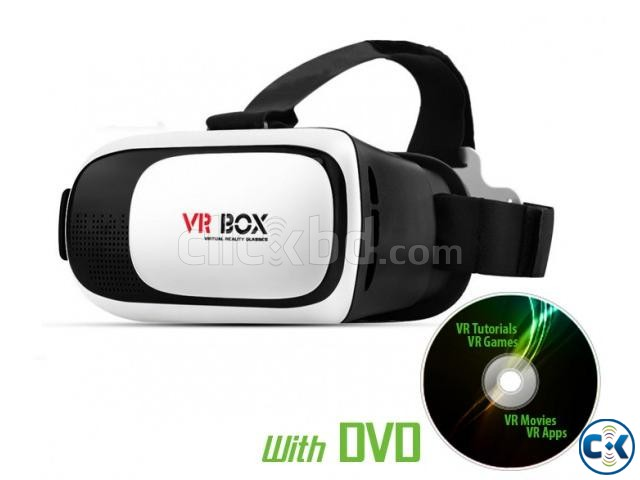 VR BOX 2.0 Virtual Reality VR Headset | ClickBD large image 0
