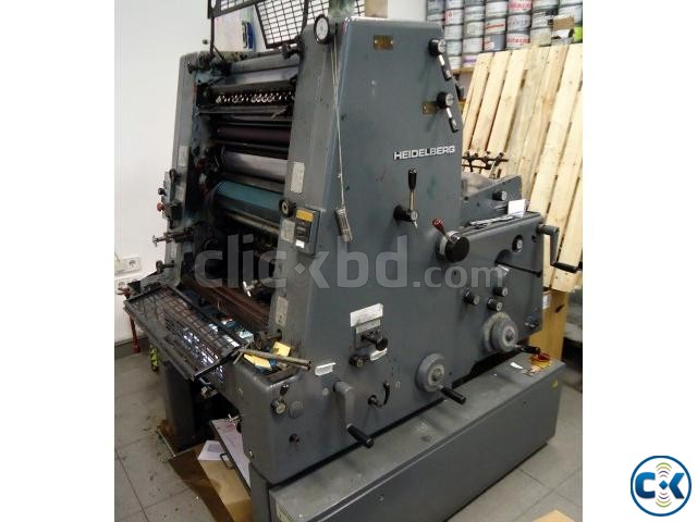 Used Offset Printing machine GTO 52 | ClickBD large image 1