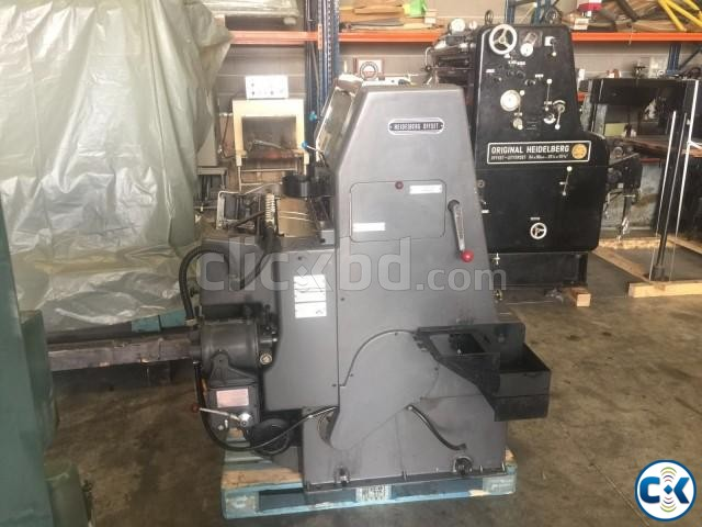 Used Offset Printing Machine GTO 46 | ClickBD large image 1