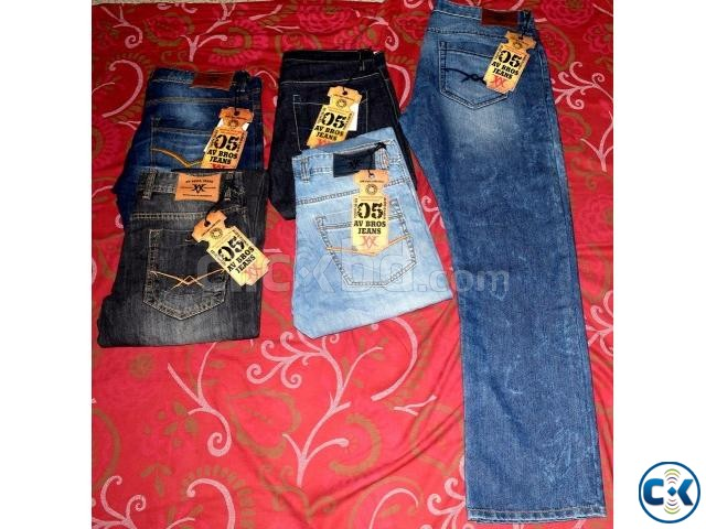 Men s Denim Pant | ClickBD large image 1