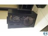Kenwood 4 way speaker system.