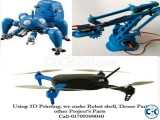 3D Printing Service for -Robot Shell Drone Parts- ISON3D