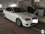 BMW White 2010 Rent in Dhaka
