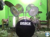 PEACE Drums set made in Taiwan