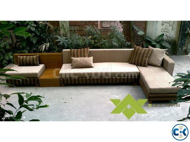Modern L Shaped Sofa Set No 10 Clickbd