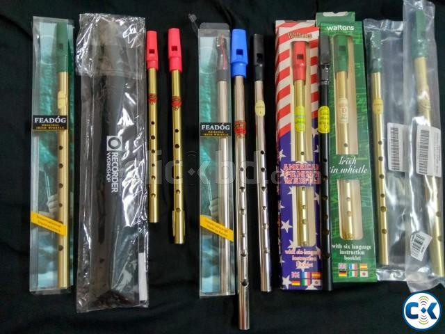 Flute Tin Whistle | ClickBD large image 0