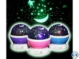 Dream Rotating Projection Lamp Stars