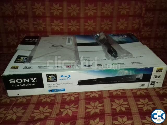 SONY 3D BLUE RAY PLAYER | ClickBD large image 0