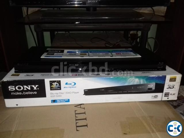 SONY 3D BLUE RAY PLAYER | ClickBD large image 1