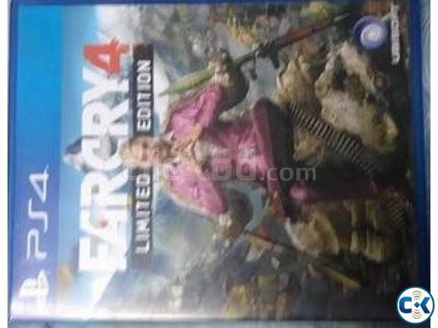 Farcry4 ps4 disk for sale | ClickBD large image 0