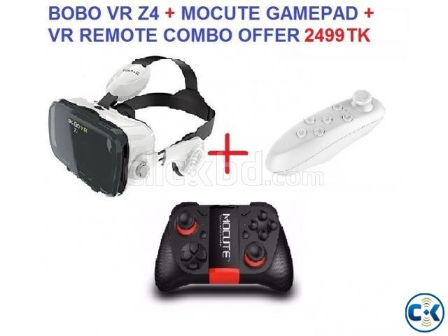 BOBO VR Z4 MOCUTE GAMEPAD REMOTE | ClickBD large image 0