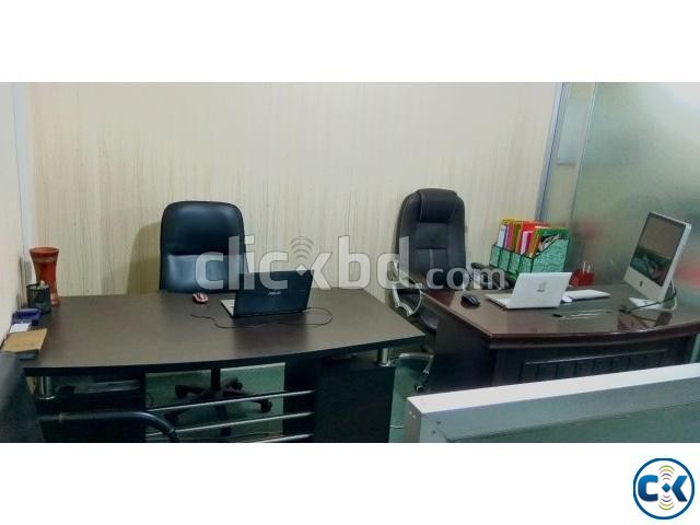 Office Furniture for Sell With Without Equipment  | ClickBD large image 0