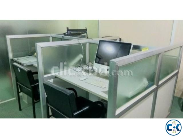 Office Furniture for Sell With Without Equipment  | ClickBD large image 2