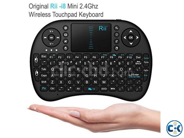 Rii I8 Mini 2.4Ghz Wireless combo Keyboard | ClickBD large image 0