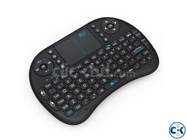 Rii I8 Mini 2.4Ghz Wireless combo Keyboard | ClickBD large image 2