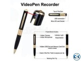 Spy Pen Camera 32GB Supported