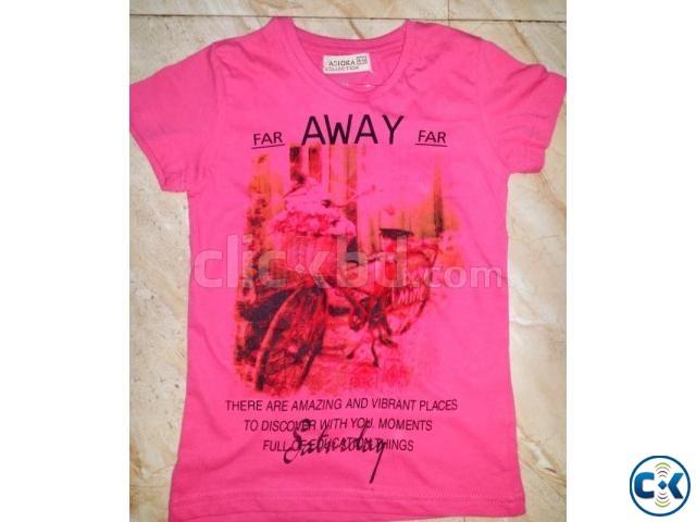 Ladies T-Shirt Stock lot | ClickBD large image 0