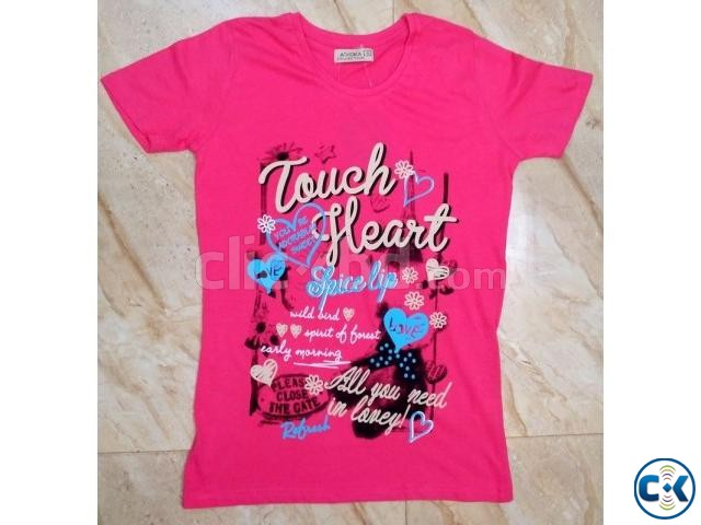 Ladies T-Shirt Stock lot | ClickBD large image 1