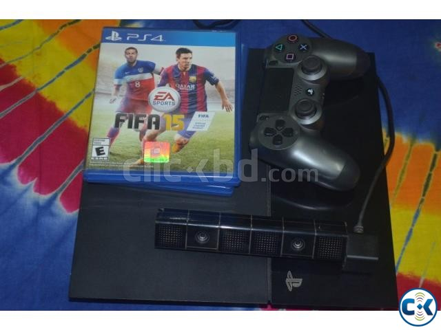 Used Playstation 4 500GB PS Eye Camera 2 Games | ClickBD large image 0