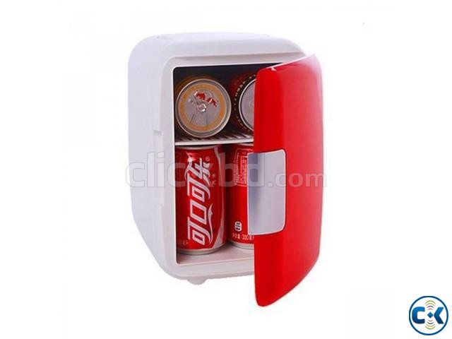 Mini Fridge Cooler and Warmer for Car and Home intact Box | ClickBD large image 1