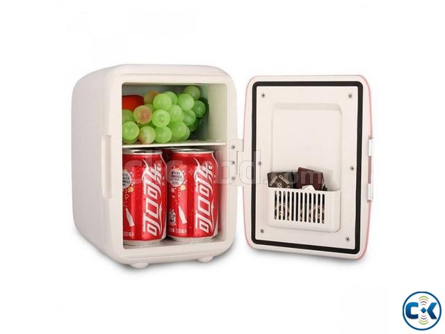 Mini Fridge Cooler and Warmer for Car and Home intact Box | ClickBD large image 2