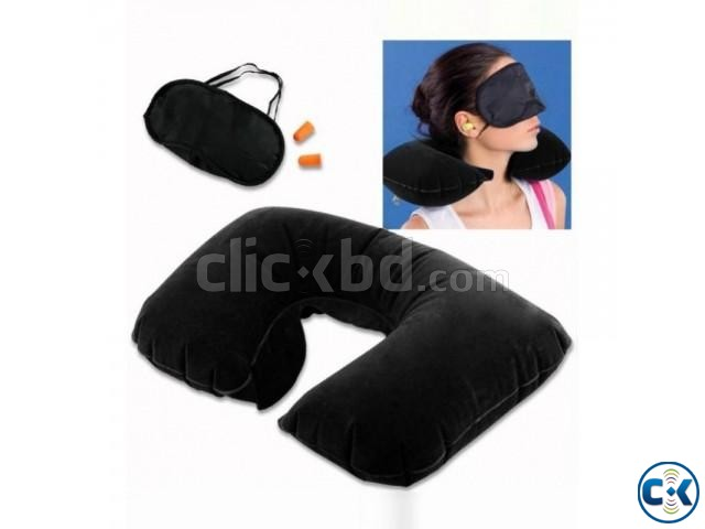 3 in 1 Travel Pillow intact Box | ClickBD large image 1