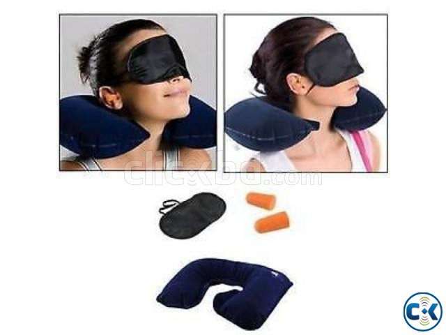 3 in 1 Travel Pillow intact Box | ClickBD large image 2