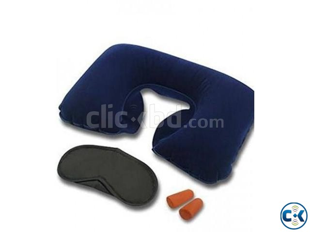 3 in 1 Travel Pillow intact Box | ClickBD large image 3