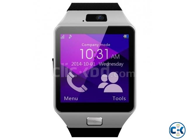Mobile Watch DZ09 single sim intact Box | ClickBD large image 0