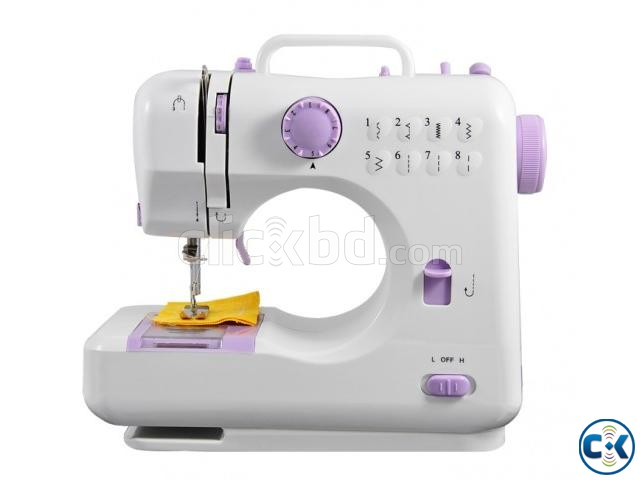 Mini Electric sewing machine FHSM-505 intact Box | ClickBD large image 0