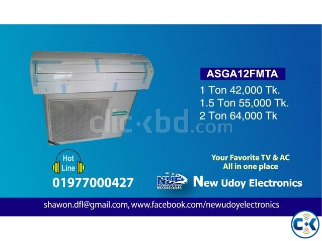 GENERAL 1.5 TON ASGA18FMTA AIR CONDITIONER | ClickBD large image 0