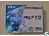 msi HD 6770 1GB GDDR5