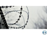 Embassy barbed wire Exclusive in Dhaka