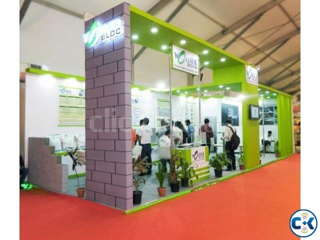 Exhibition fair stall pavilion | ClickBD large image 2