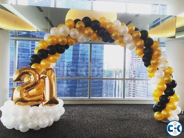 Balloon Decoration Birthday party | ClickBD large image 0