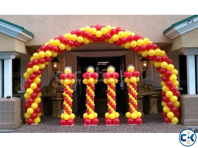 Balloon Decoration Birthday party | ClickBD large image 1