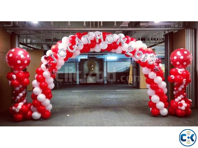 Balloon Decoration Birthday party | ClickBD large image 3