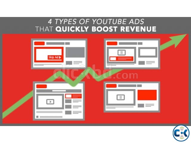 Facebook ad or Google ad or youtube ad boost advertisement | ClickBD large image 2
