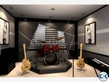Small image 2 of 5 for Music room interior   ClickBD