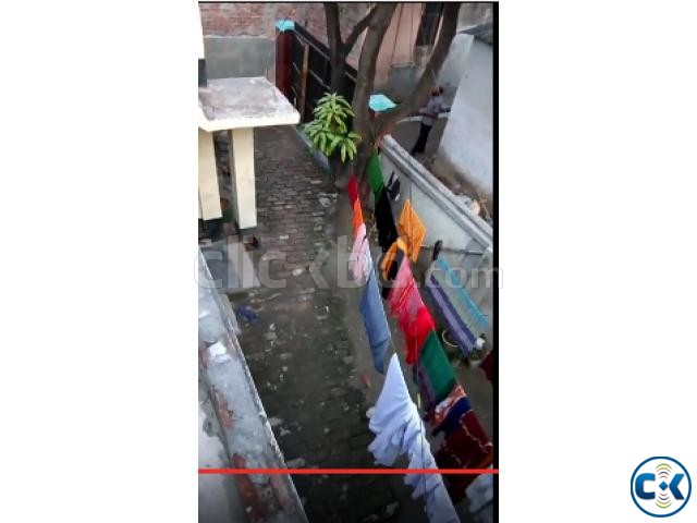 Flat with Land sale at Savar Bazar Bus stand urgent | ClickBD large image 1