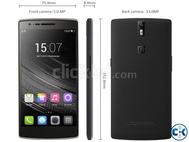 OnePlus One 64GB ROM 3GB RAM Brand New Intact  | ClickBD large image 2