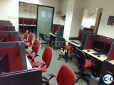 work station for Call Center or IT firm