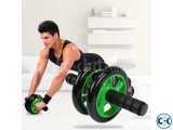 Braked AB Exercise Wheel