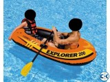 - 2 Person Rubber Boat