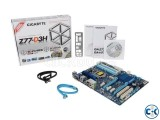 GiGaByte MotherBoard Z77-D3H For 2nd or 3rd Gen.....