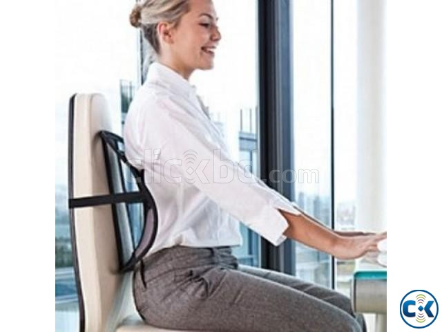 Sit Right for Back support Any Chair  | ClickBD large image 0