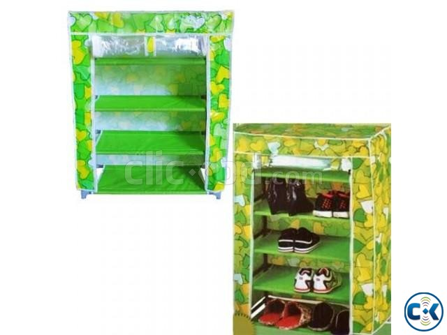 4 Layer Shoe rack | ClickBD large image 0