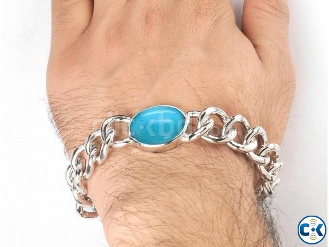 salman khan Blue Stone Bracelet for Men | ClickBD large image 0