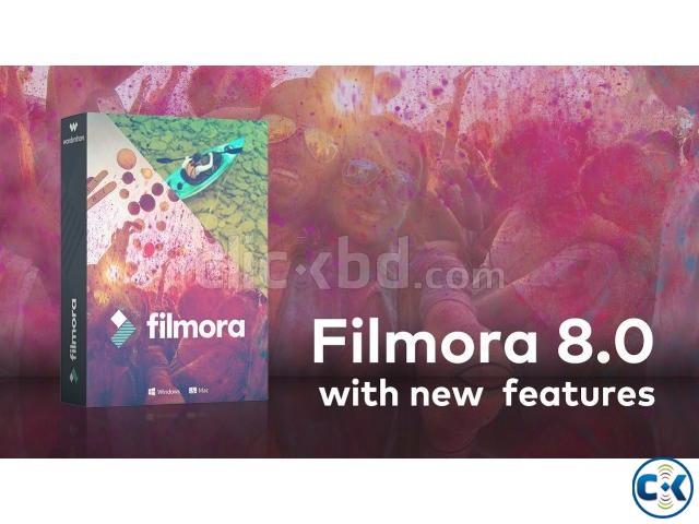 Filmora 8.0 Video Editing Software Full Version | ClickBD large image 0