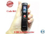 DIGITAL VOICE RECORDER 8 GB